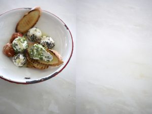 garlic herb soft white cheese sonia cabano blog eatdrinkapetown food wine travel