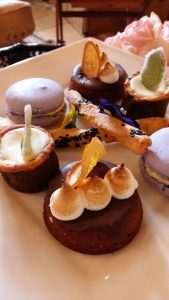 Sweet treats at Anthonij Rupert Wyne Afternoon Tea