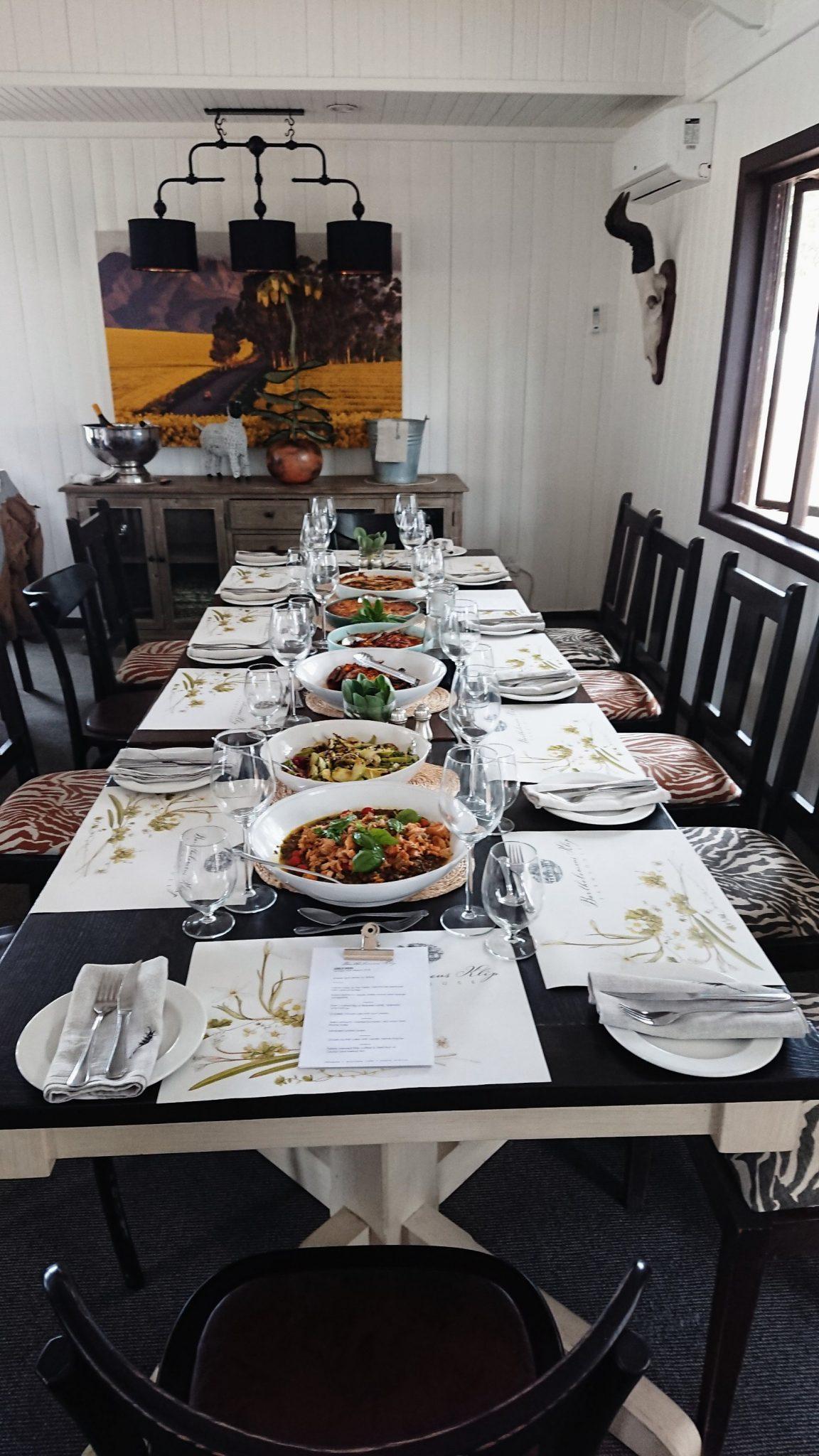 Sunday lunch table deckhouse Bartholomeus Klip Farmhouse Sonia Cabano blog eatdrinkcapetown