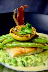kingklip mint pea risotto la paris bistro sonia cabano blog eatdrinkcapetown