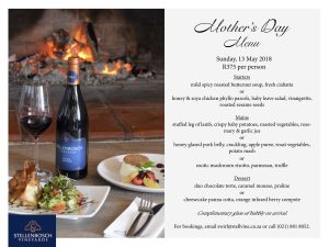 mothers day menu stellenbosch vineyards 2018 sonia cabano blog eatdrinkcapetown