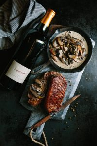 steak spier mushroom pepper sauce fathers day 2018 sonia cabano blog eatdrinkcapetown