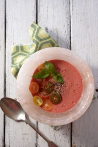 gazpacho himalayan salt bowl sonia cabano blog eatdrinkcapetown