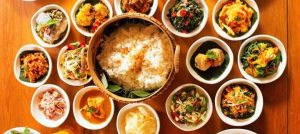 rice centrepiece rijstafel sonia cabano blog eatdrinkcapetown