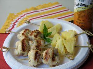 savoury chicken skewers angostura sonia cabano blog eatdrinkcapetown