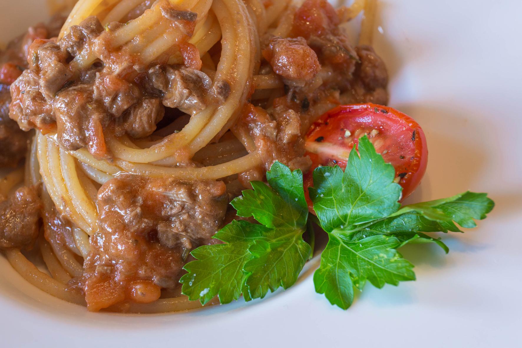Pasta al ragu, 95 at Morgenster sonia cabano blig eatdrinkcapetown