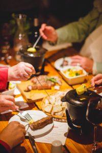 Cheese Fondue and Jazz at delheim sunday lunch winter 2019 sonia cabano blog eatdrinkcapetown