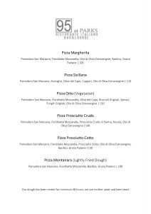 pizza menu 95 at parls sonia cabano blog eatdrinkcapetown
