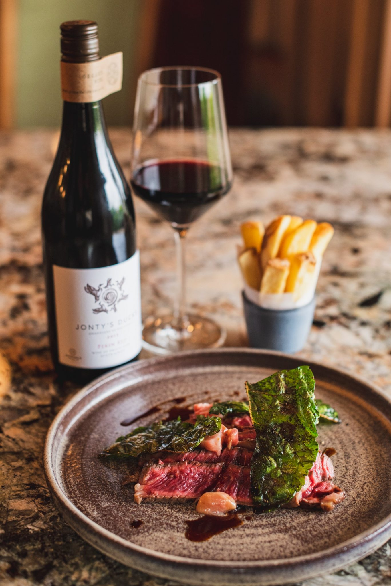 steak chips red wine avondale faberfood sonia cabano bvlog eatdrinkcapetown