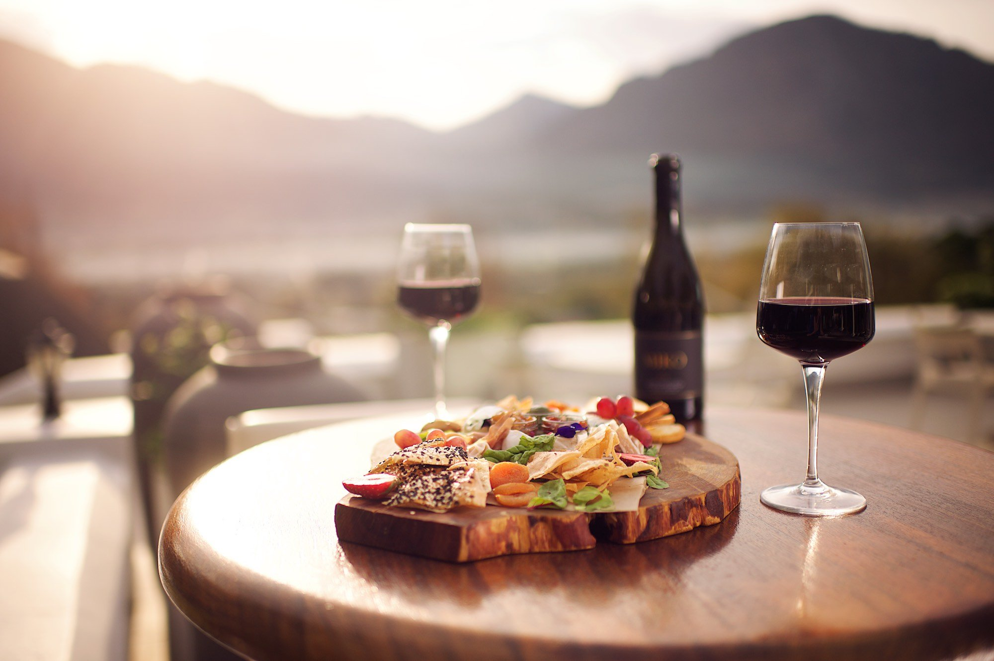 Sundowners mont rochelle Franschhoek fathers day sonia cabano blog eatdrinkcapetown