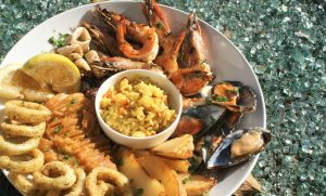 Seafood platter for 2 at The Bistro, Grande Provence