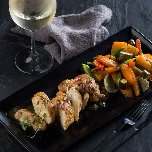 Deboned Chicken at Hussar Grill, Valentine's Special sonia cabano blog eatdrinkcapetown
