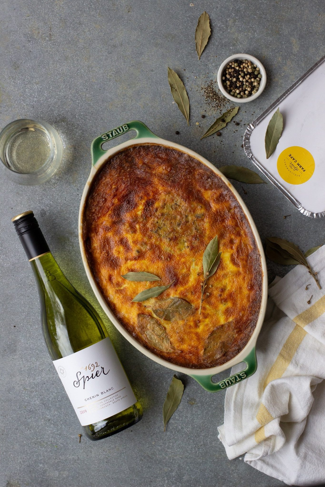 Spier Farm Shop's Bobotie, made with Farmer Angus's free-range beef Sonia Cabano blog eatdrinkcapetown