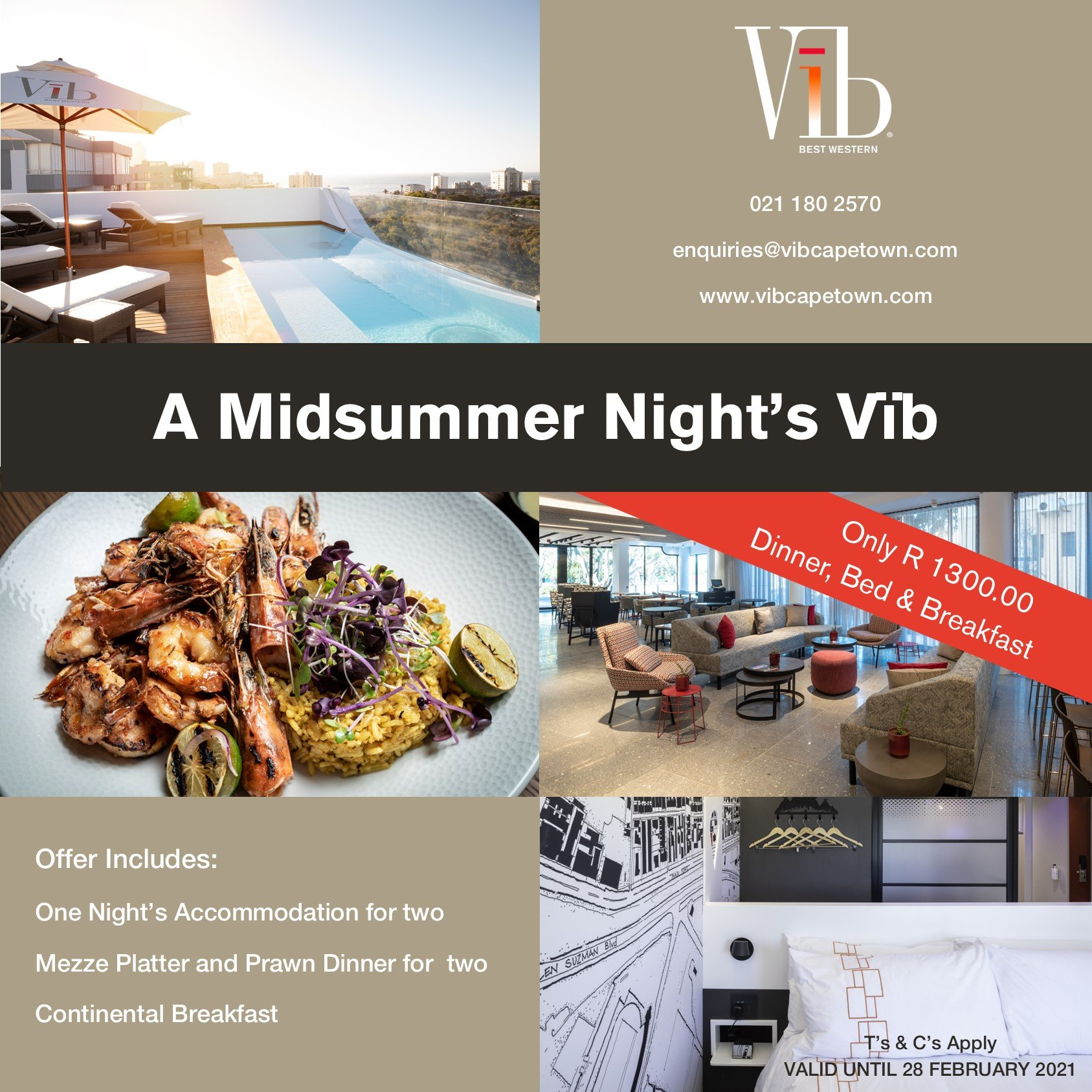 Vïb Hotel Valentine's Staycation Special Offer Sonia Cabano blog eatdrinkcapetown