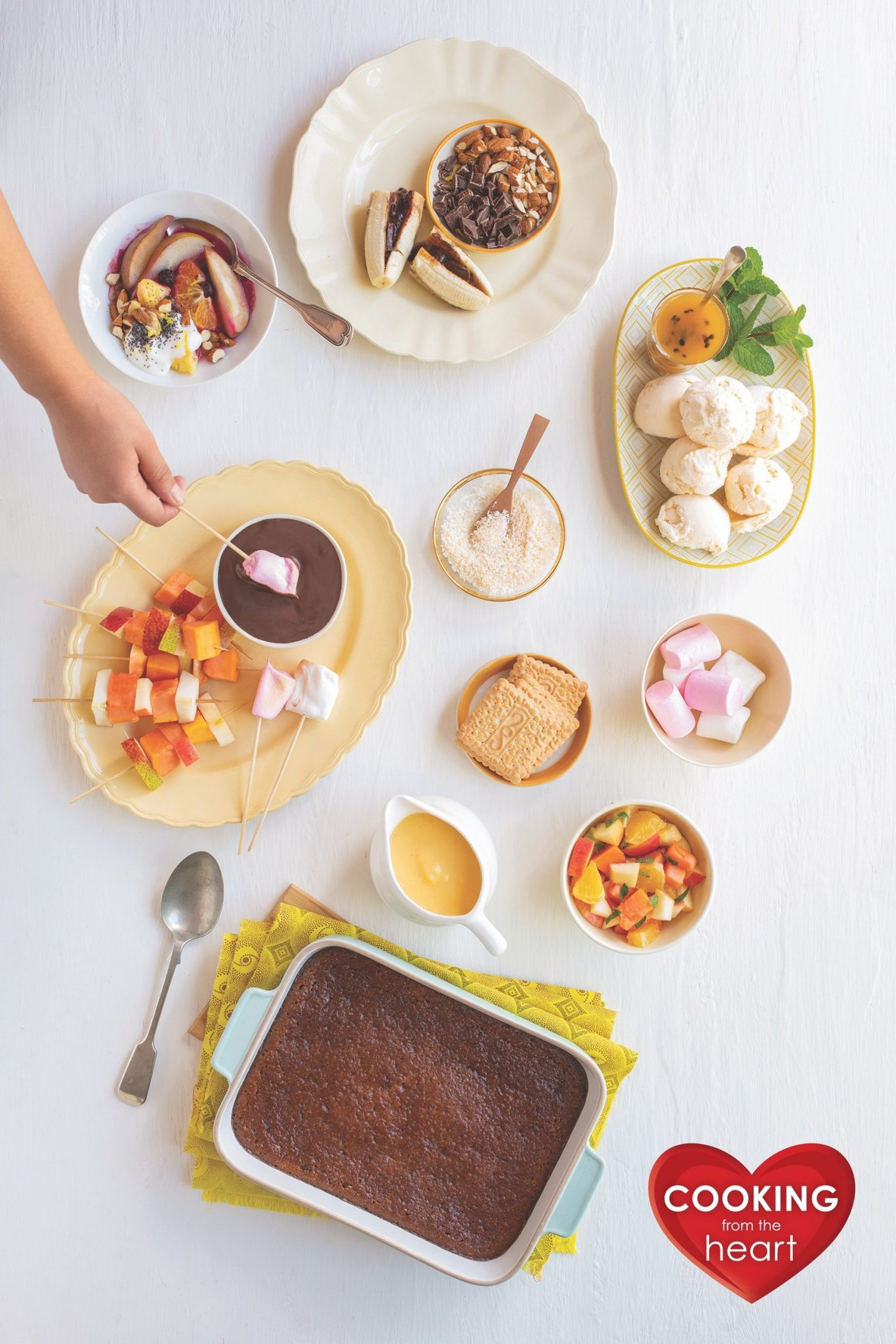 Chocolate Dip, Heart-healthy Braai recipes, Cooking from the Heart, Sonia Cabano blog eatdrinkcapetown food wine travel