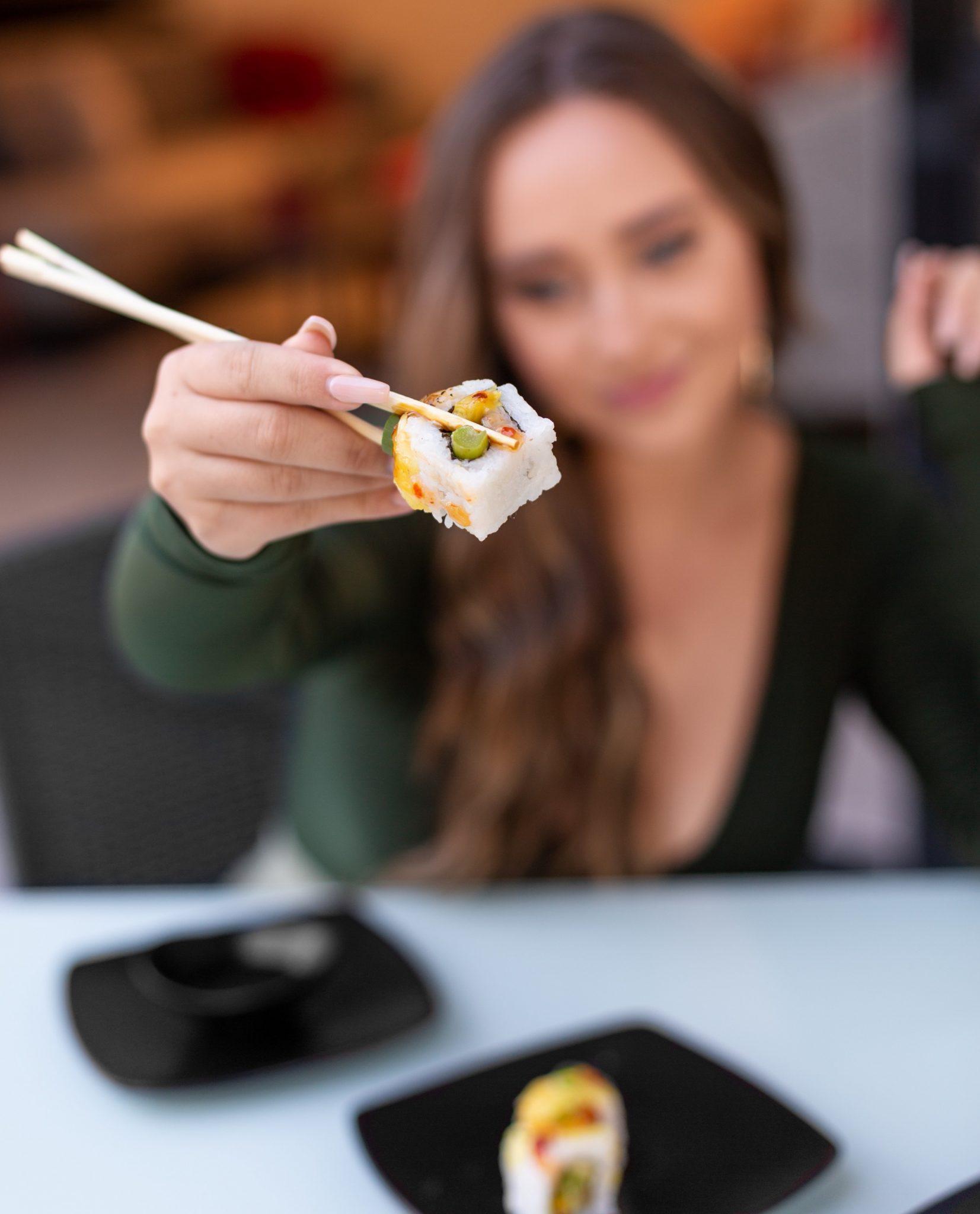 Japanese/Peruvian fusion-style sushi at Maaya, Eye Bar, Loop Street at Vïb Hotel Cape Town. Photo by Jason Read.