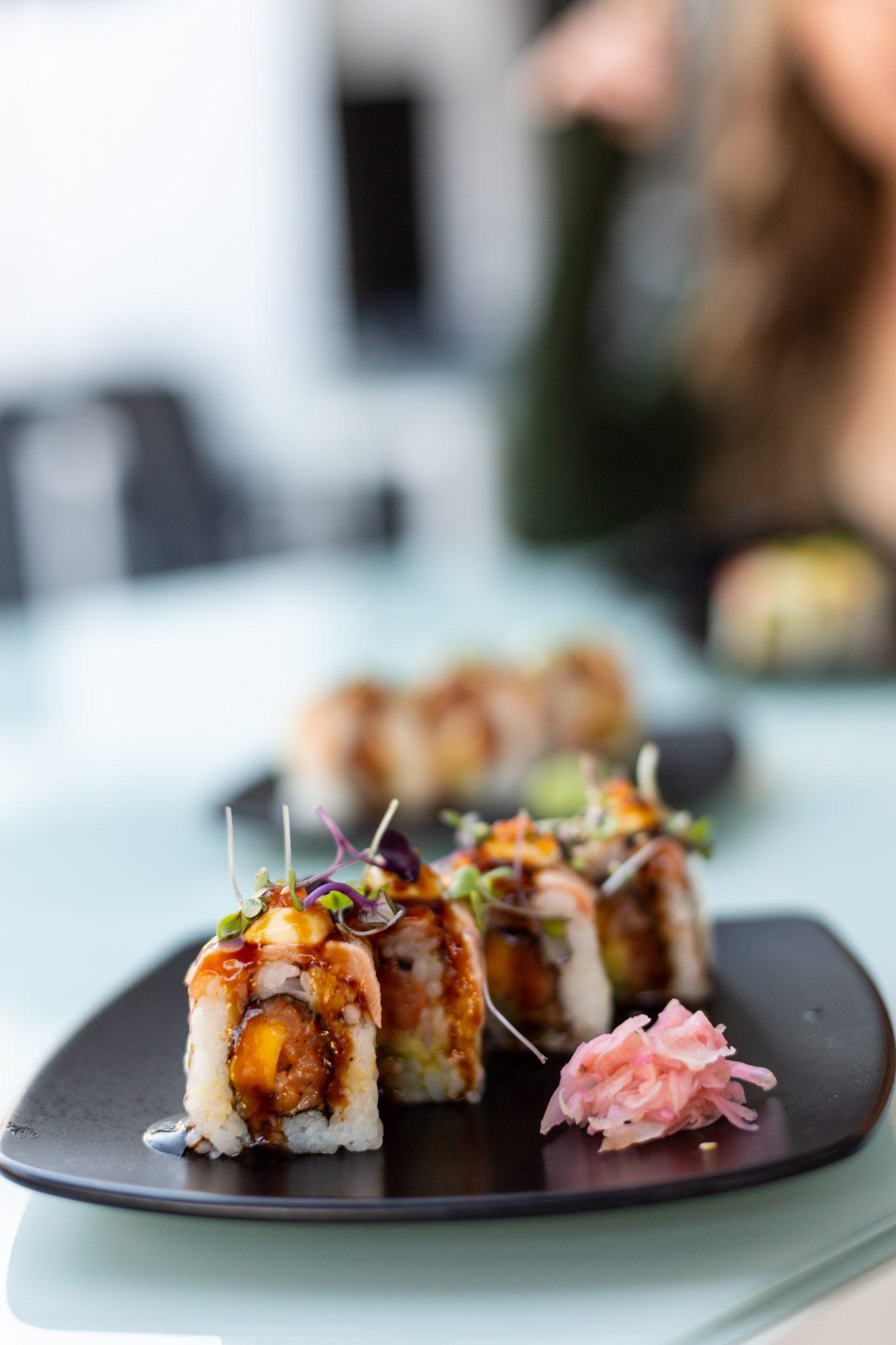 Japanese/Peruvian fusion-style sushi at Maaya, Eye Bar Loop Street Cape Town  Sonia Cabano blog eatdrinkcapetown